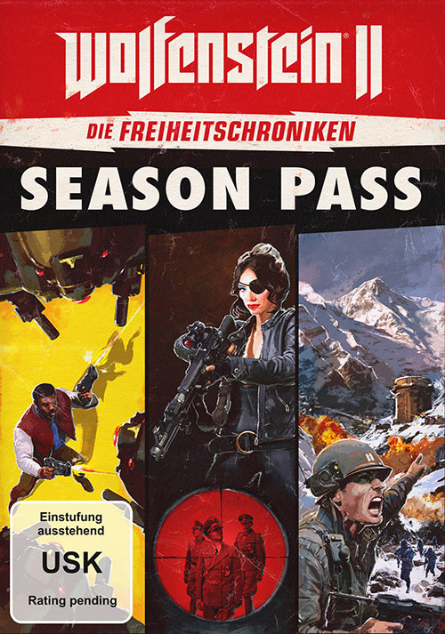 Wolfenstein II: The Freedom Chronicles Season Pass  - Cover