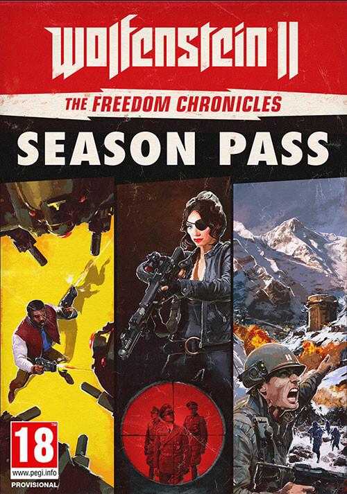 Wolfenstein II: The Freedom Chronicles Season Pass  - Packshot