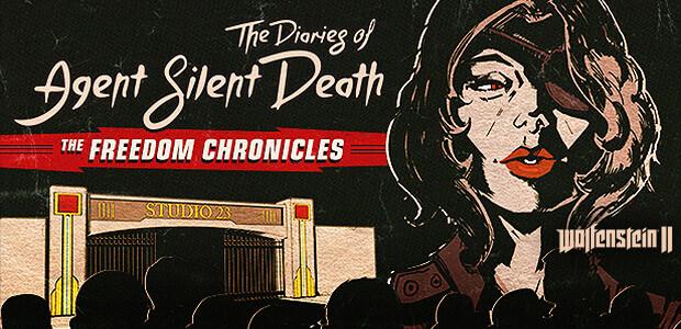 Wolfenstein II: The Diaries of Agent Silent Death (DLC 2) - Cover / Packshot