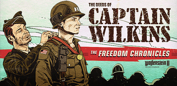 Wolfenstein II: The Deeds of Captain Wilkins (DLC 3) - Cover / Packshot