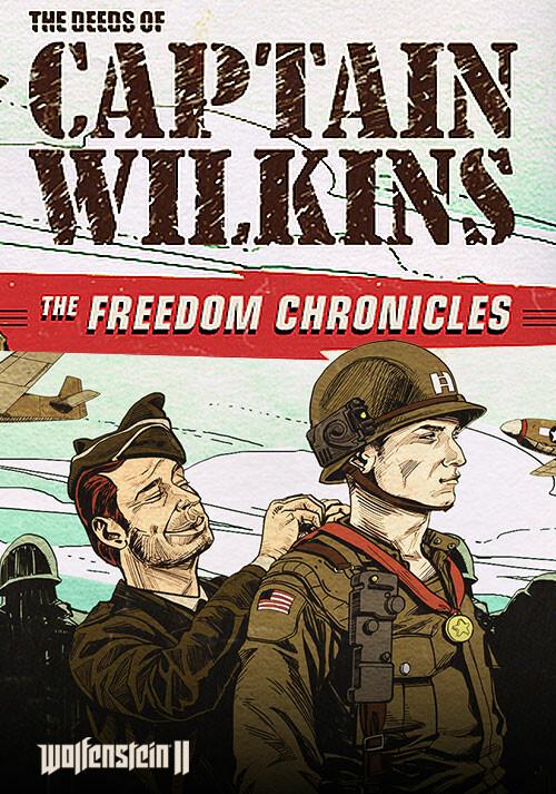 Wolfenstein II: The Deeds of Captain Wilkins (DLC 3) - Cover / Packshot