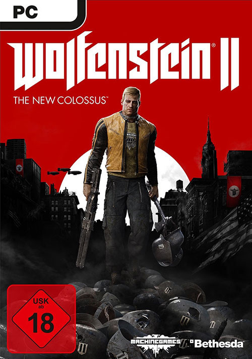 Wolfenstein II: The New Colossus [USK DE Version] - Cover / Packshot