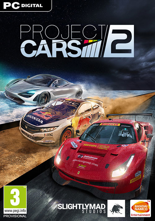 Project CARS 2 - Cover / Packshot