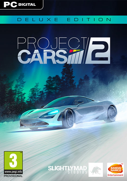 Project CARS 2 Deluxe Edition - Cover