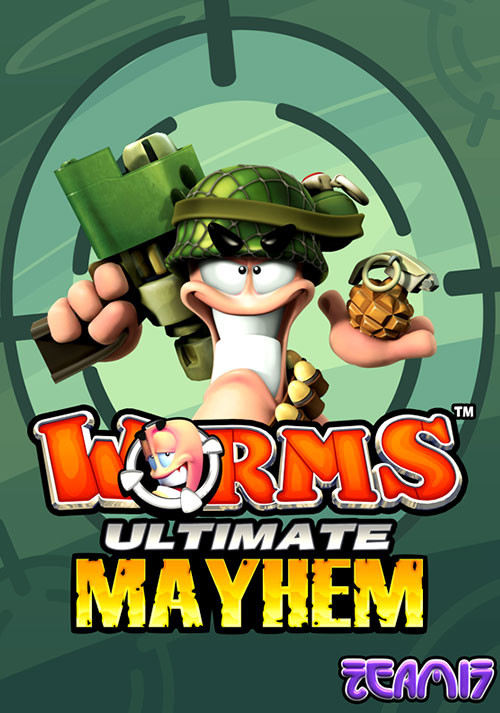 Worms Ultimate Mayhem - Cover
