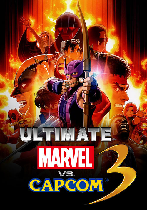 Ultimate Marvel vs. Capcom 3 - Cover