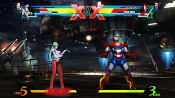 Screenshot1 - Ultimate Marvel vs. Capcom 3