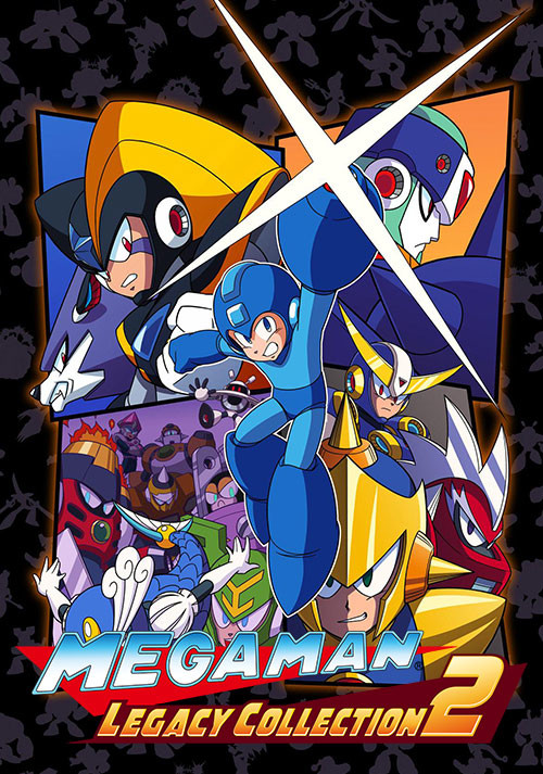 Mega Man Legacy Collection 2 - Cover