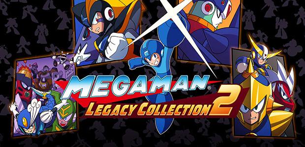 Mega Man Legacy Collection 2 - Cover / Packshot