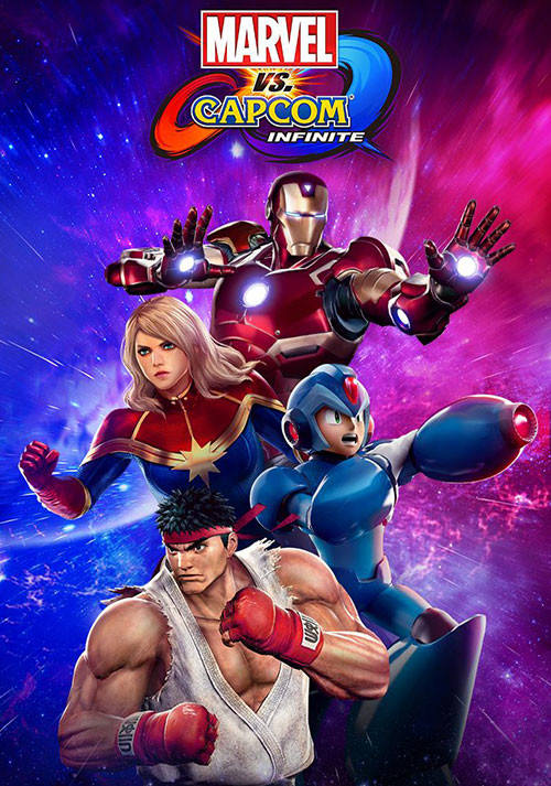 Marvel vs. Capcom: Infinite - Cover / Packshot