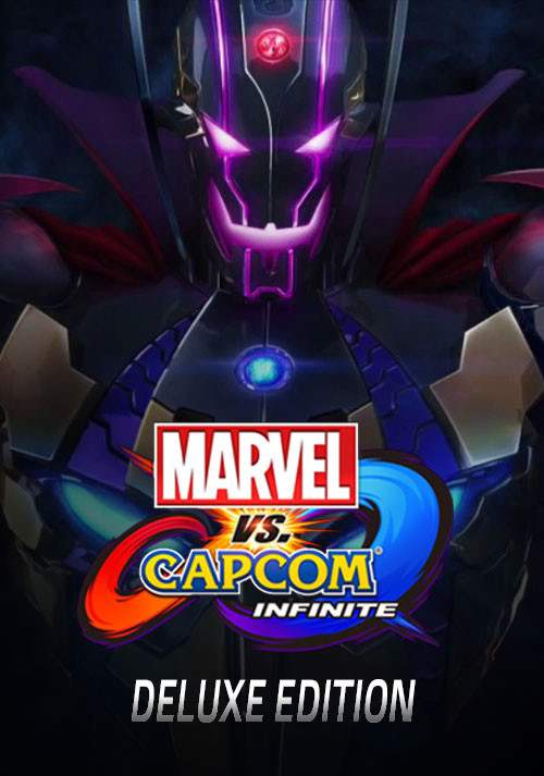 Marvel vs. Capcom: Infinite - Deluxe Edition - Cover