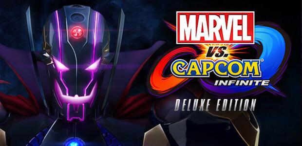 Marvel vs. Capcom: Infinite - Deluxe Edition - Cover / Packshot