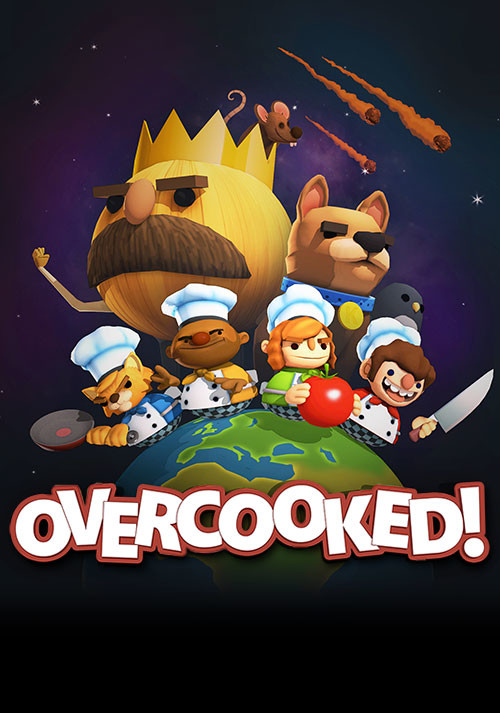Overcooked - Cover