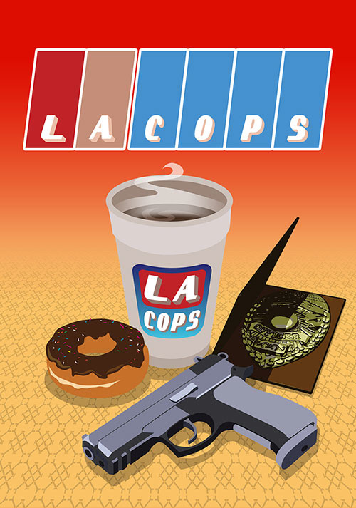 LA Cops - Cover / Packshot