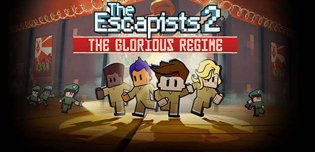 The Escapists 2 - Glorious Regime Prison - Cover / Packshot