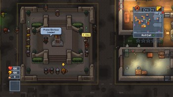 Screenshot1 - The Escapists 2 - Glorious Regime Prison
