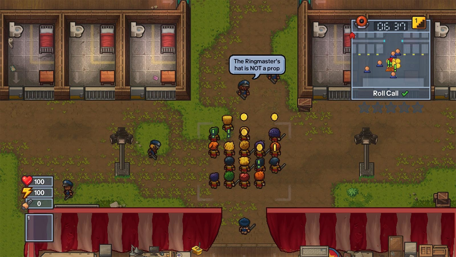 The Escapists 2 - Big Top Breakout [Steam CD Key] for PC, Mac and Linux -  Buy now