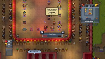 Screenshot2 - The Escapists 2 - Big Top Breakout