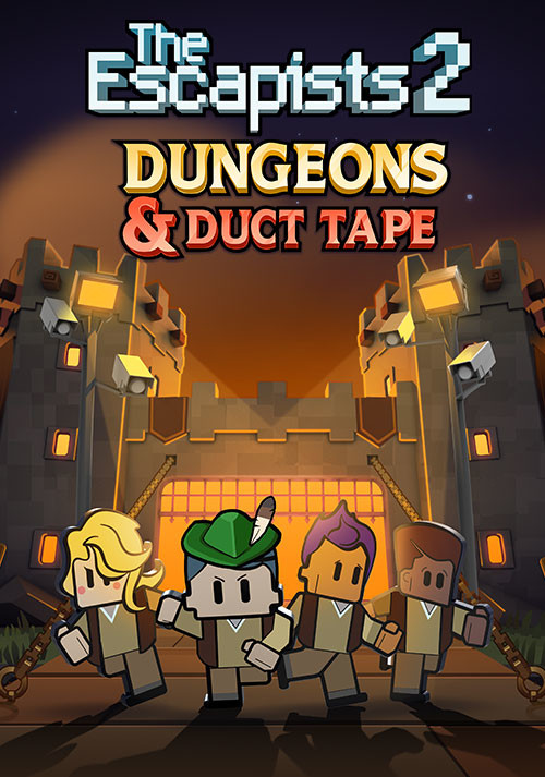 The Escapists 2 - Dungeons and Duct Tape - Cover / Packshot