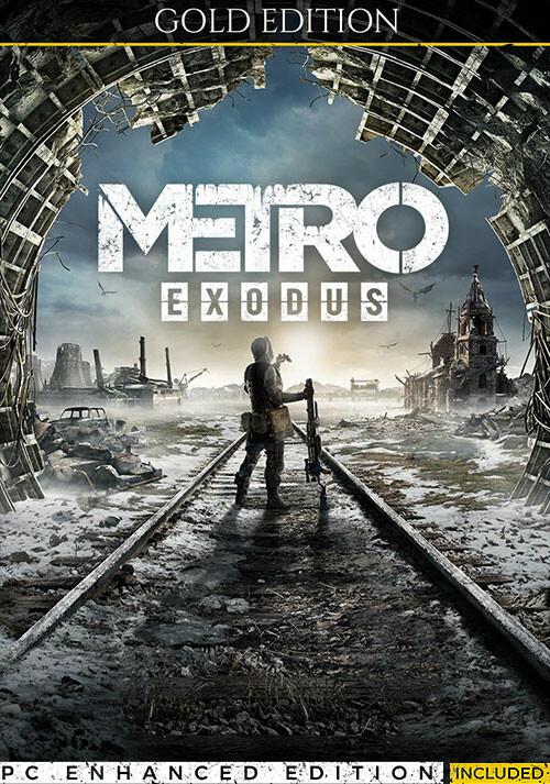 Metro Exodus - Gold Edition - Cover / Packshot