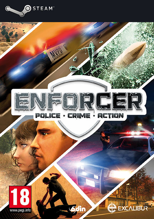Enforcer: Police Crime Action - Cover / Packshot