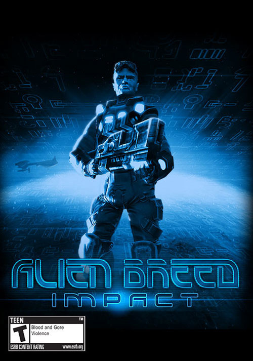 Alien Breed: Impact - Cover