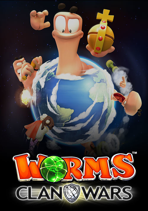 Worms Clan Wars - Cover