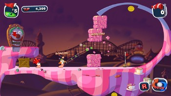 Screenshot10 - Worms Crazy Golf