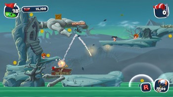 Screenshot11 - Worms Crazy Golf