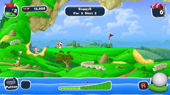 Screenshot3 - Worms Crazy Golf