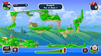 Screenshot5 - Worms Crazy Golf