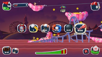 Screenshot7 - Worms Crazy Golf