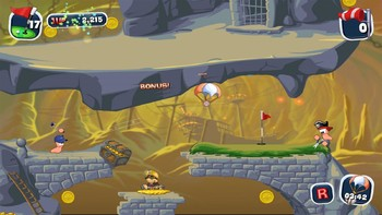 Screenshot8 - Worms Crazy Golf