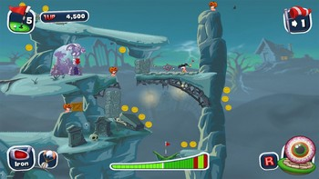 Screenshot9 - Worms Crazy Golf