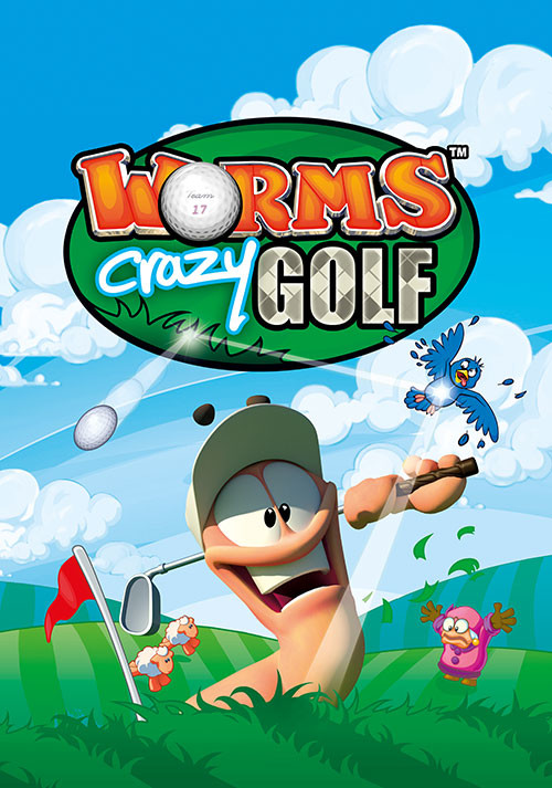 Worms Crazy Golf - Cover / Packshot
