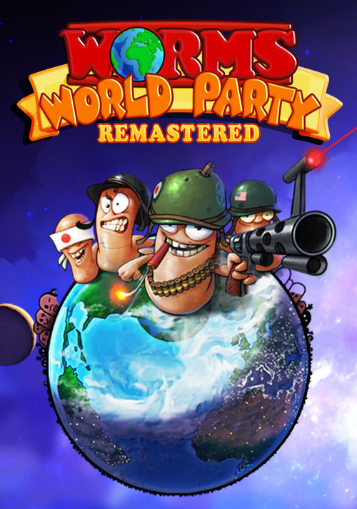 Worms World Party Remastered - Cover