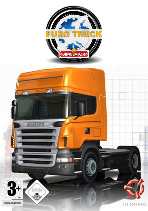 Euro Truck Simulator - Cover / Packshot