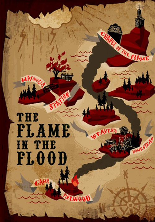 The Flame in the Flood - Cover / Packshot