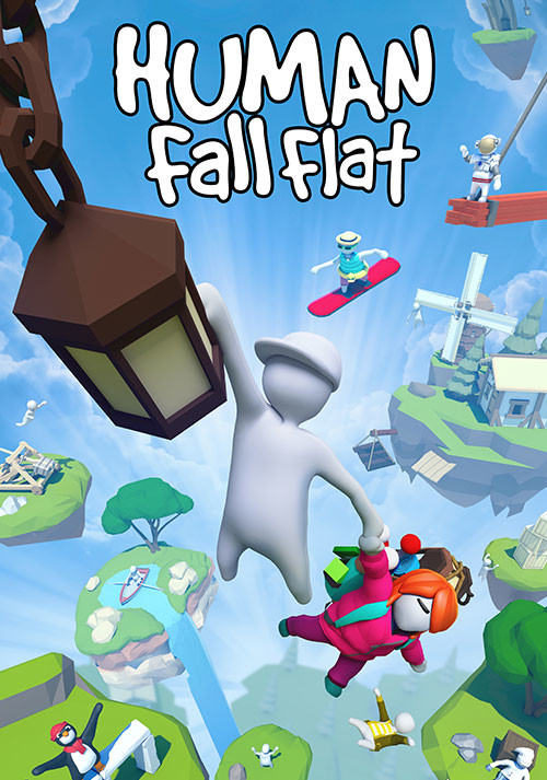 Human: Fall Flat - Cover / Packshot