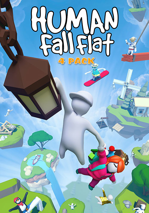 Human: Fall Flat 4-Pack - Cover