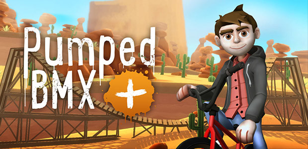Pumped BMX + - Cover / Packshot