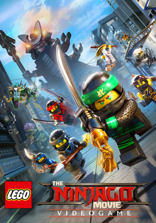 The LEGO Ninjago Movie Videogame - Cover / Packshot