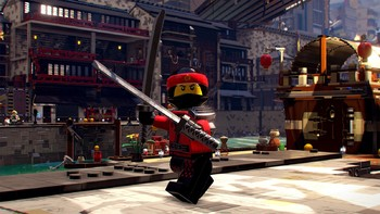 Screenshot1 - The LEGO Ninjago Movie Videogame