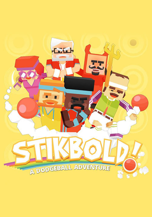Stikbold! A Dodgeball Adventure - Cover