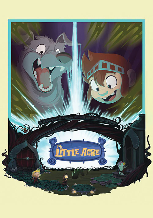The Little Acre - Cover / Packshot