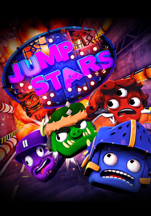Jump Stars - Cover / Packshot