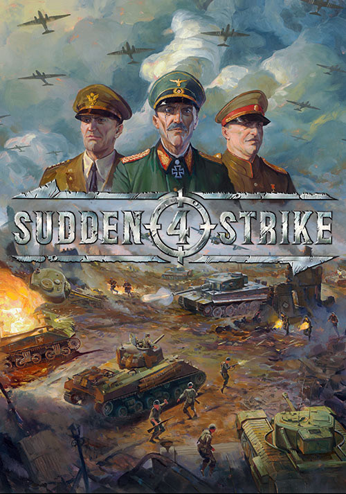Sudden Strike 4 - Cover / Packshot