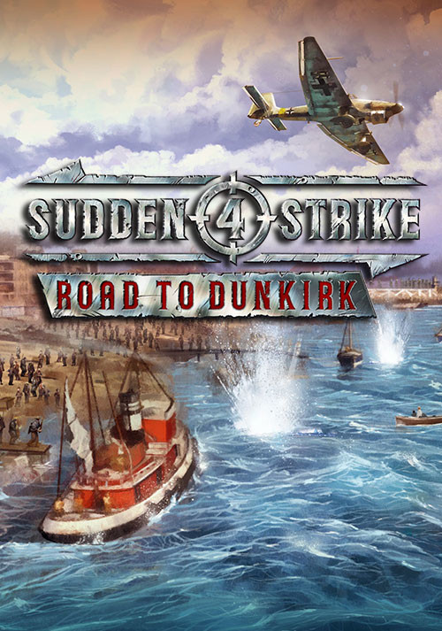 Sudden Strike 4 - Road to Dunkirk - Cover