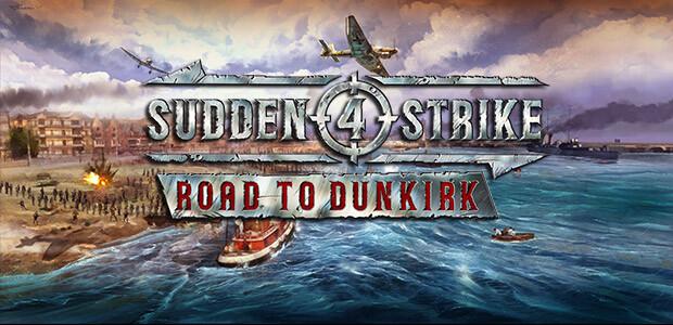 Sudden Strike 4 - Road to Dunkirk - Cover / Packshot