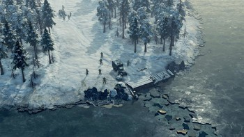 Screenshot3 - Sudden Strike 4 - Finland: Winter Storm